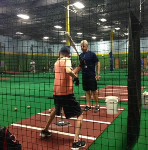 One-On-One Baseball Instruction