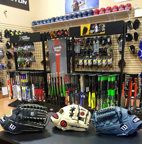 Fully Stocked Pro Shop